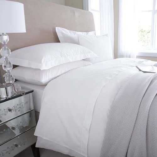 Linge de lit en percale de coton Égyptien 80 fils / cm² - 200TC Percale - Housse de Couette