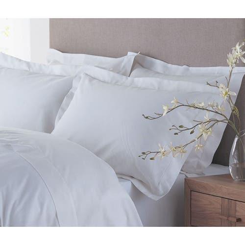 Linge de lit en coton biologique 120 fils/cm² - 300TC - Drap Plat