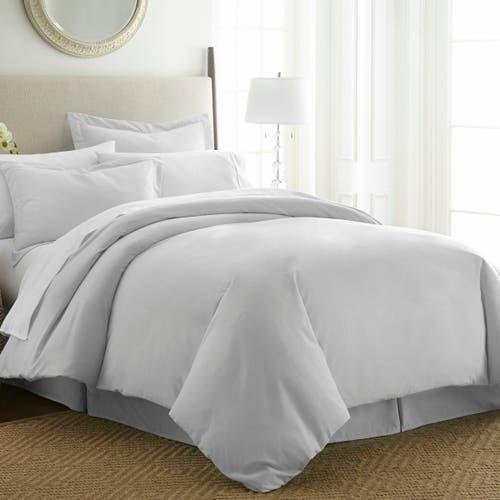Linge de lit en coton Égyptien 120 fils/cm² - 300TC Satin de Coton- Housse de Couette