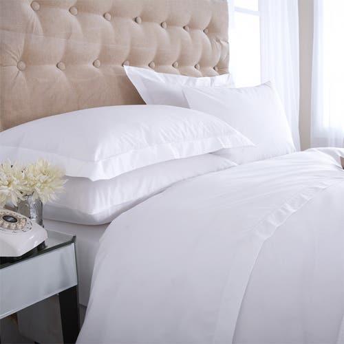Linge de lit Boutique en percale de coton Égyptien 160 fils/cm² - 400TC - Housse de Couette
