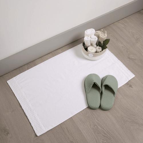 Tapis de bain en coton biologique 900g/m²