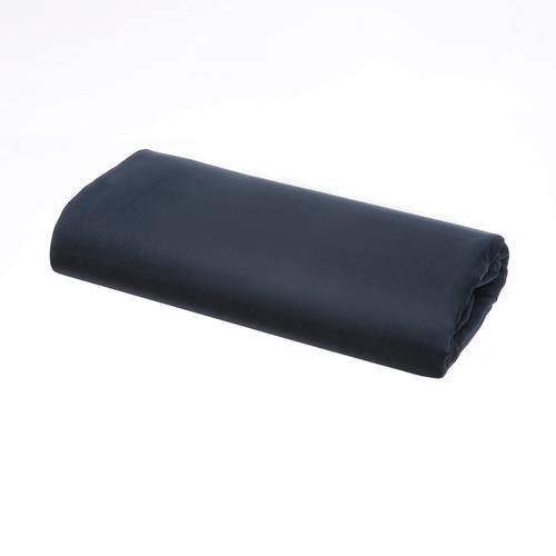 Linge de Lit en satin de coton Pelle d'Uovo 120 fils/cm² - 300TC Satin de Coton - Bleu Marine - Drap Plat
