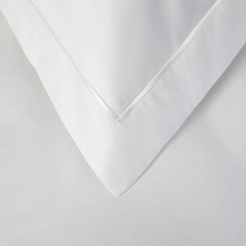 Linge de lit Boutique en percale de coton Égyptien 160 fils/cm² - 400TC - Taie d'Oreiller