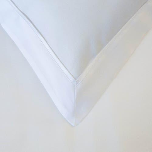 Linge de lit en coton biologique 120 fils/cm² - 300TC - Taie d'Oreiller