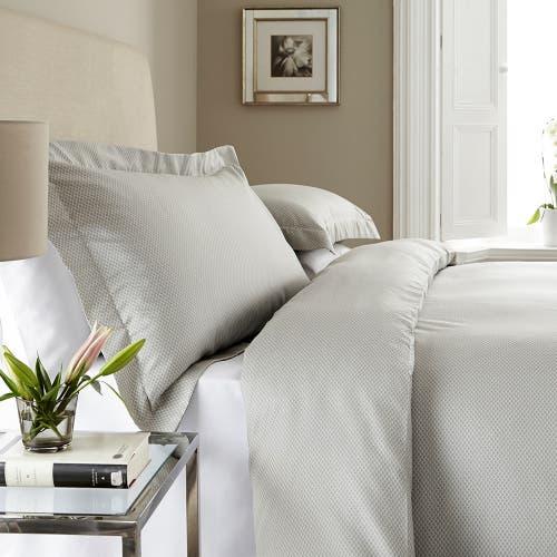 Parure de lit New York 100 % Satin de Coton 120 fils - 300TC - Housse de Couette
