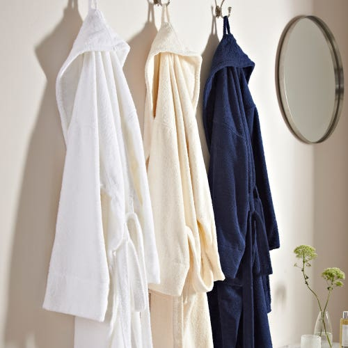 Peignoir de bain en tissu éponge 100% coton 400g/m2