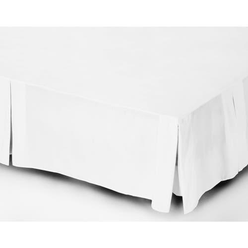 Linge de lit en percale de coton Égyptien 80 fils / cm² - 200TC Percale - Valance