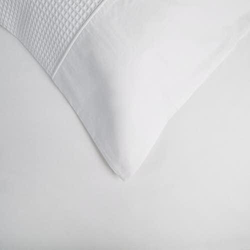Parure de lit en Nid d'abeille en coton égyptien 80 Fils - 200TC - Taie d'Oreiller